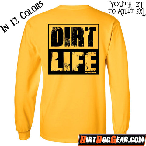 "Crate Rate® LS Shirt 31: ""Dirt Life"""