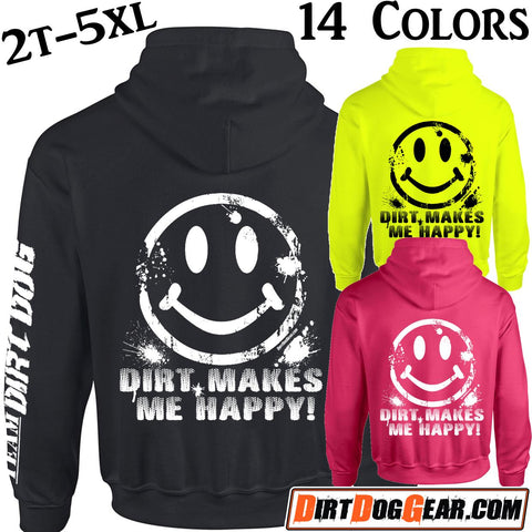 "Hoodie 21: ""Dirt Makes Me Happy"""