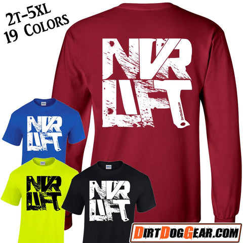 "Crate Rate® Shirt 35: ""Never Lift"""