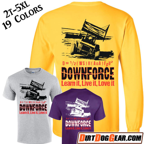 "Crate Rate® Shirt 40: ""Downforce"""