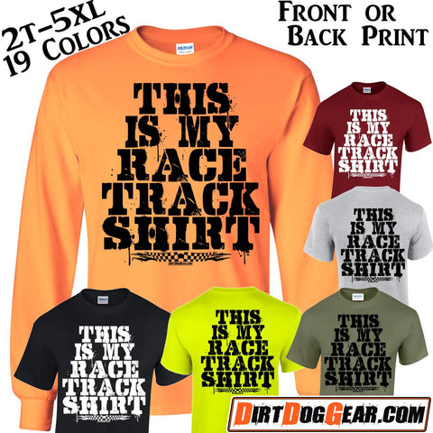 "Crate Rate® Shirt 44: ""My Race Track Shirt"""