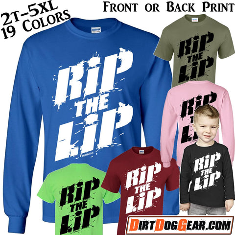 "Crate Rate® Shirt 45: ""RIP the LIP"""