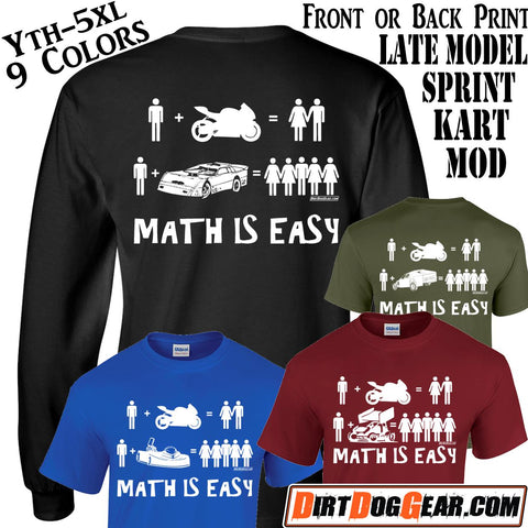 "Crate Rate® Shirt #7: ""Math is Easy"""