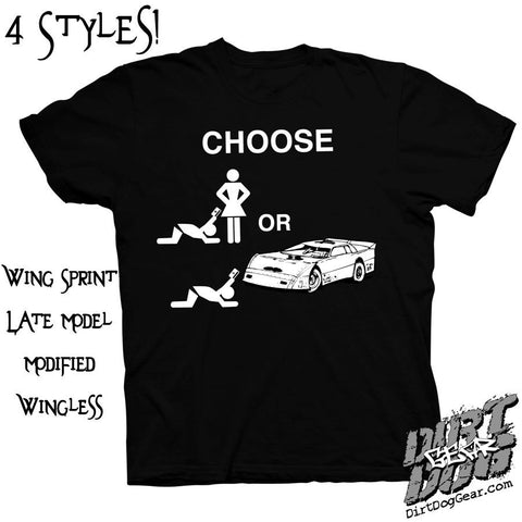 "Crate Rate® Shirt #6: ""Choose"" - 4 Styles"