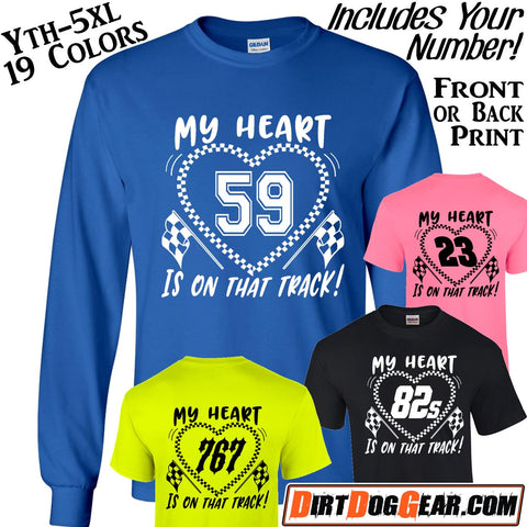 "Dirt Girl® Shirt #23: ""My Heart"" Custom Print"