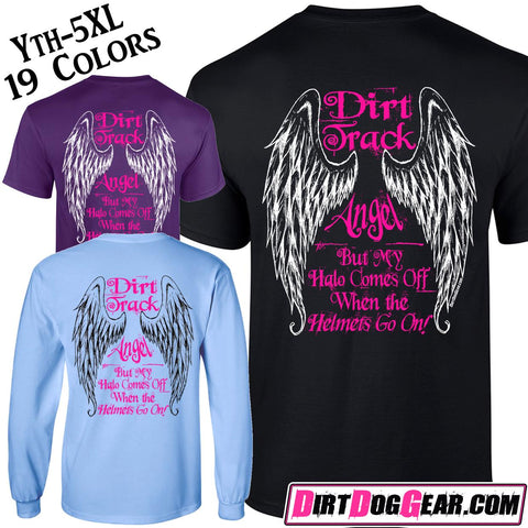 "Dirt Girl® Shirt #6: ""Dirt Track Angel"""