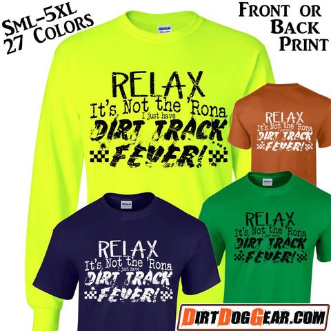 "Bones Shirt #15: ""Dirt Track Fever"""