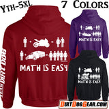 "Hoodie #7: ""Math is Easy"""