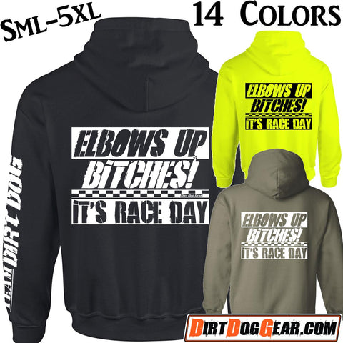 "Bones Hoodie 11: ""Elbows Up Bitches"""