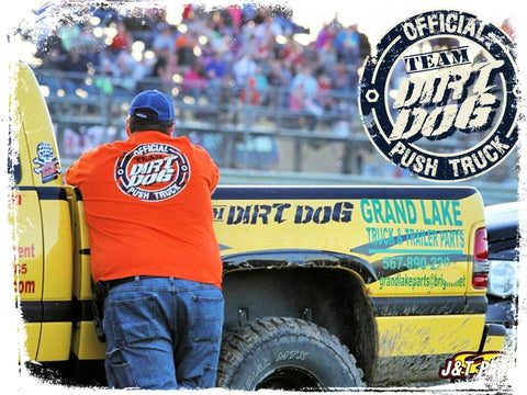 Team Dirt Dog Push Truck Shirts