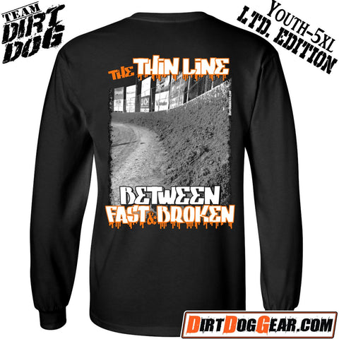 "Limited Edition LS Shirt 22: ""The Thin Line"" 2K17"