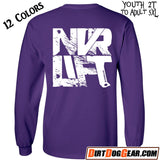 "Crate Rate® LS Shirt 35: ""Never Lift"""