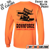 "Crate Rate® LS Shirt 40: ""Downforce"""