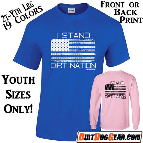 "Crate Rate® Shirt 37: ""I Stand - Dirt Nation"""