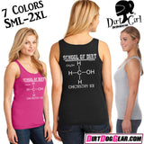 "Dirt Girl® Tank Top 47: ""Chemistry 101"""
