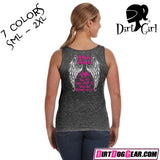 "Dirt Girl® Shirt #6 Tank Top: ""Dirt Track Angel"""