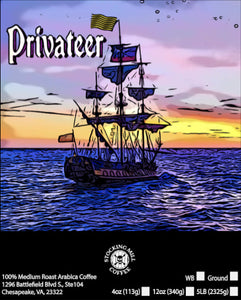 High Quality Vinyl Privateer label