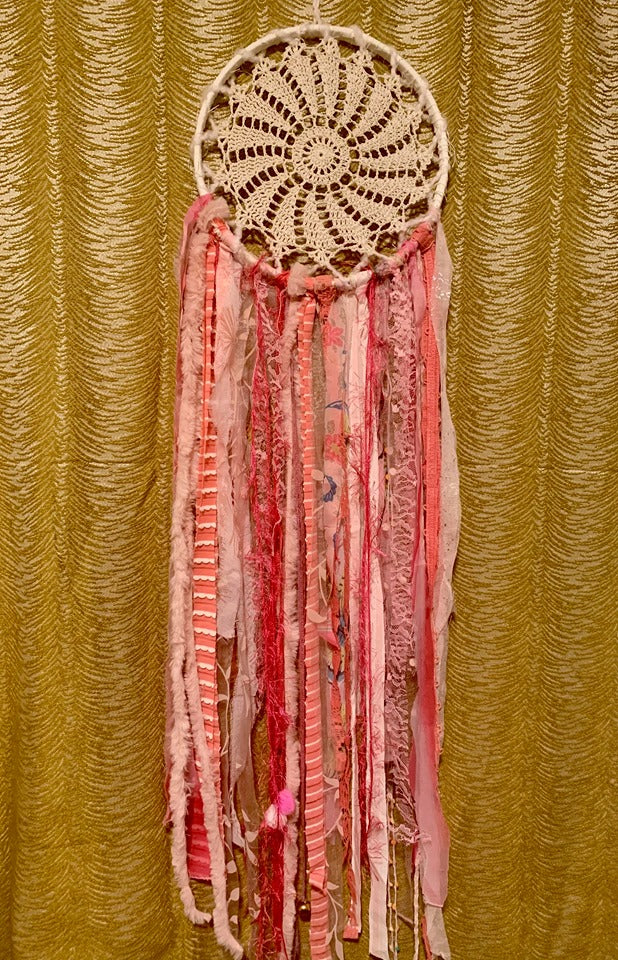 Pink Kanya Sunrise Dream Catcher