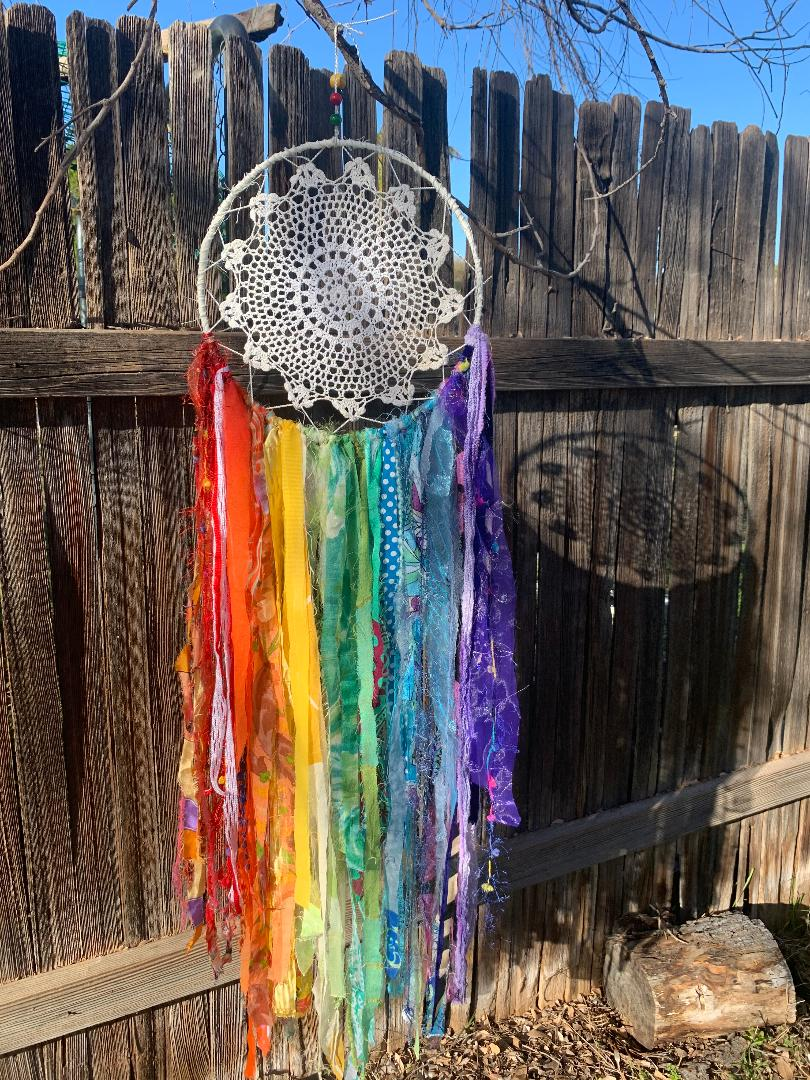 Rainbow Nandini Joy Dream Catcher Kit