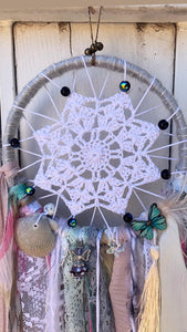Gray Skies Dream Catcher