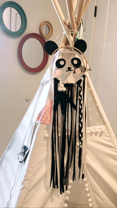 Panda Aashi Smile Dream Catcher