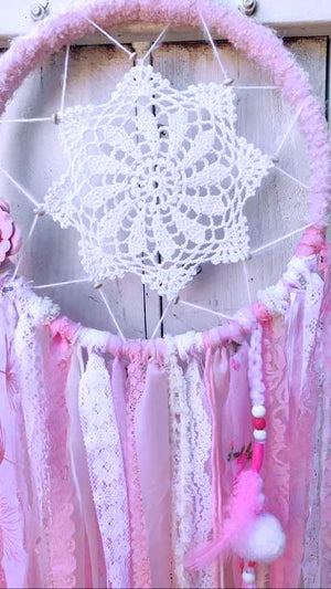 Pink Dreams Dream Catcher