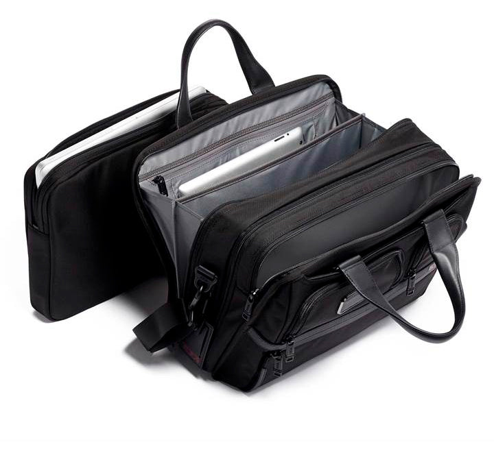 Tumi Alpha 3 Expandable Organizer Laptop Brief