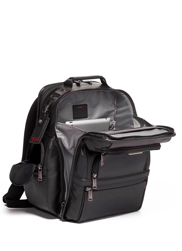 Tumi Alpha 3 Business Brief Pack Leather