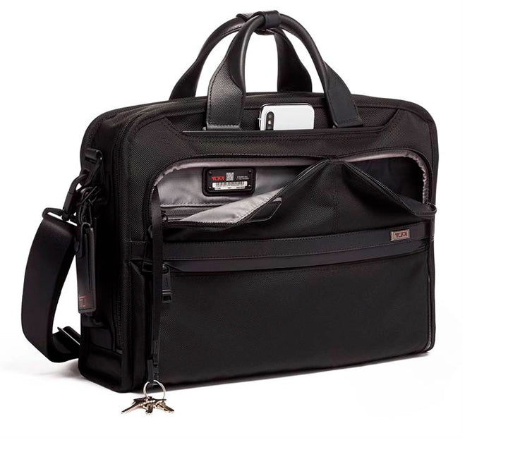 Tumi Alpha 3 Slim Three Way Brief m. rygsæk funktion