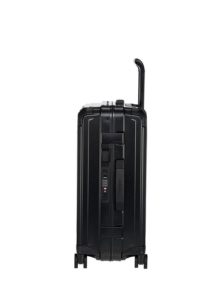 Samsonite LiteBox Alu Sort Kabinekuffert
