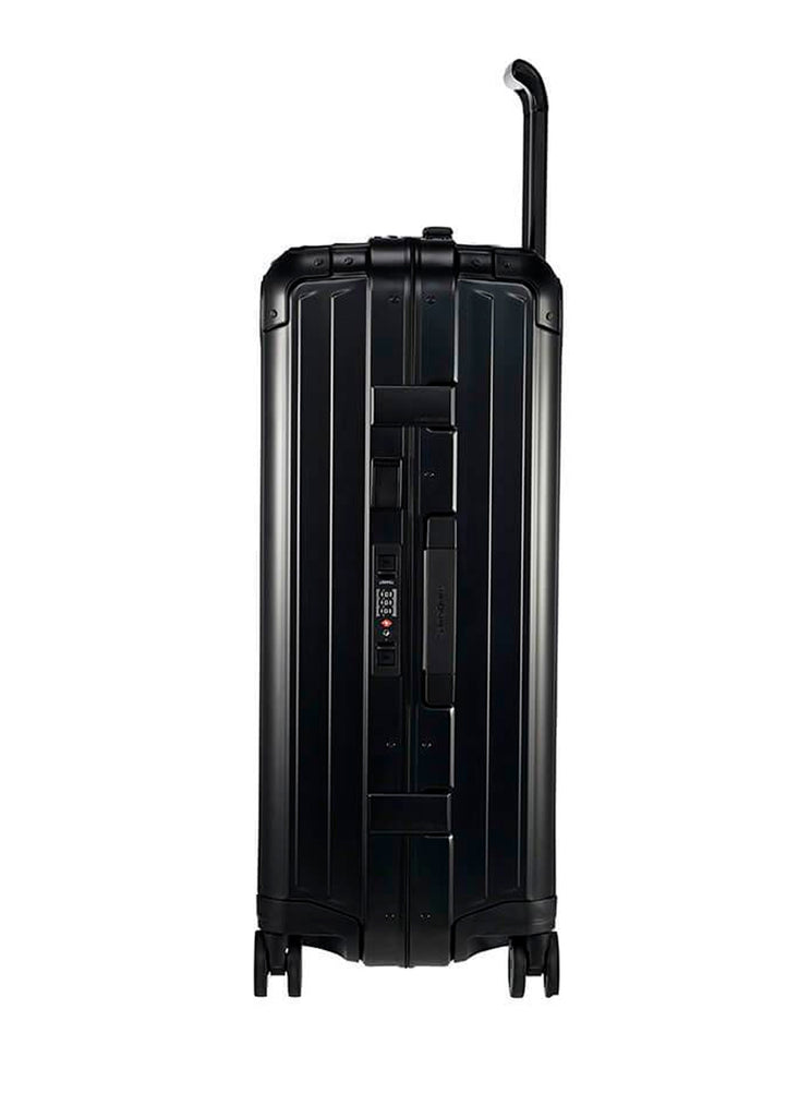 Samsonite LiteBox Alu Sort Mellem Kuffert