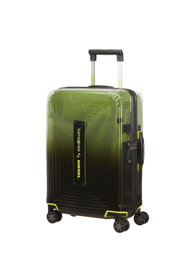 Samsonite Neopulse X Diesel Sort/Gul Kabine Kuffert