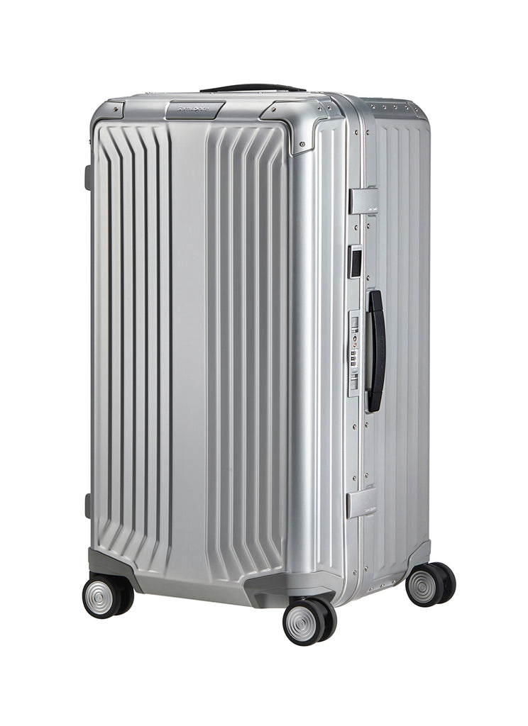 Samsonite LiteBox Alu Sølv Stor Trunk