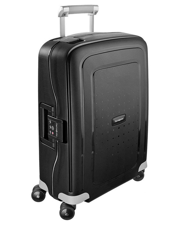 Samsonite S'cure Sort Stor Kuffert