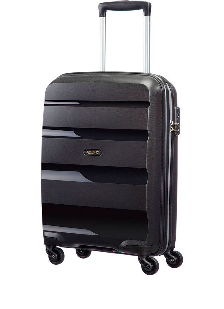 American Tourister Bon Air Spinner Sort Mellem Kuffert