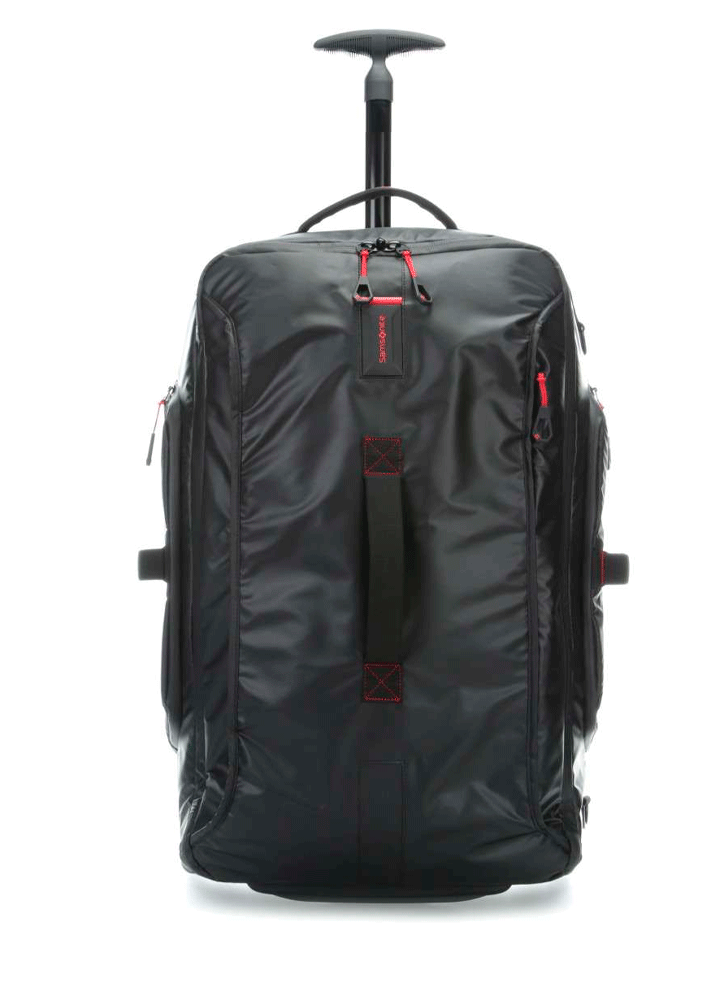 Samsonite Paradiver Light Sort Mellem Dufflebag m. 2 Hjul
