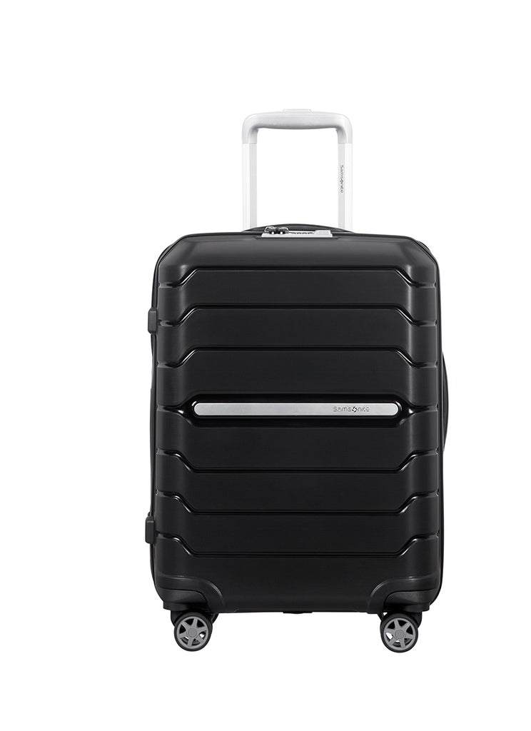 Samsonite Flux Kabine kuffert m. ekspansion sort