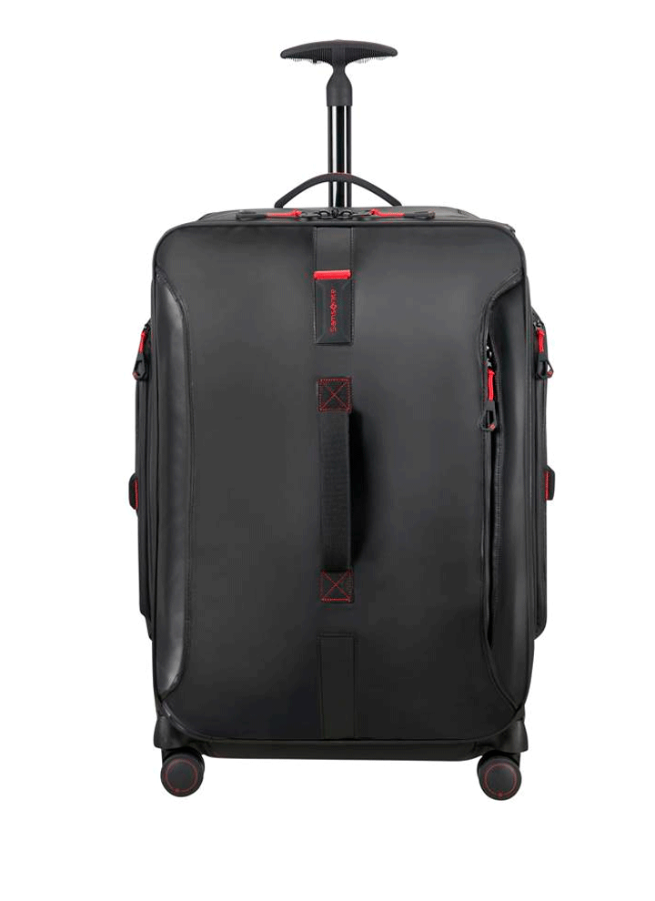 Samsonite Paradiver Light Sort Mellem Dufflebag m. 4 Hjul