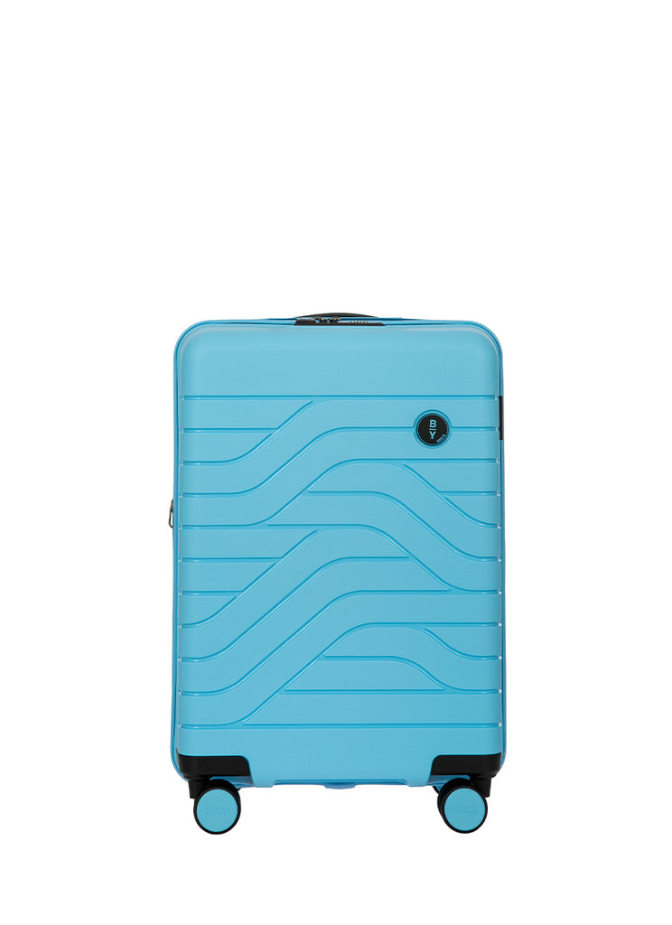 Bric's B|Y Expandable Hard-Shell Mørkegrøn Carry-On Trolley m. USB stik