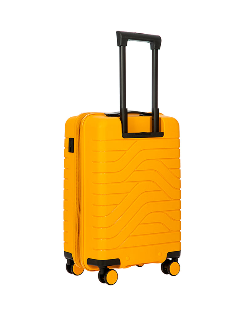 Bric's B|Y Expandable Hard-Shell Mango Carry-On Trolley m. USB stik