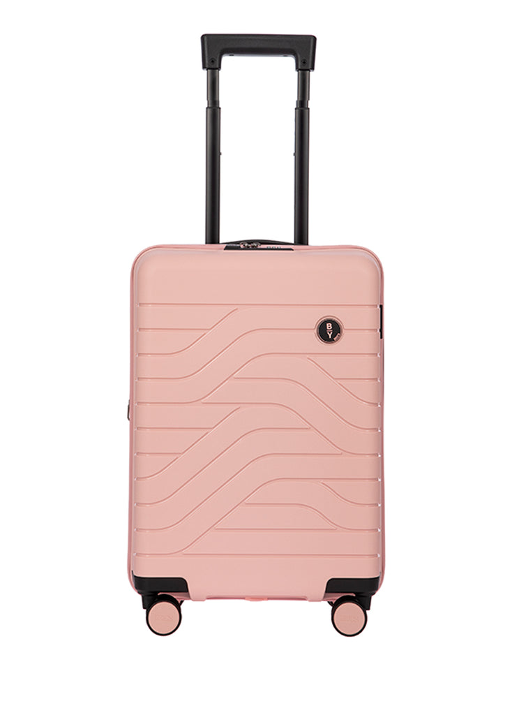 Bric's B|Y Expandable Hard-Shell Pink Carry-On Trolley