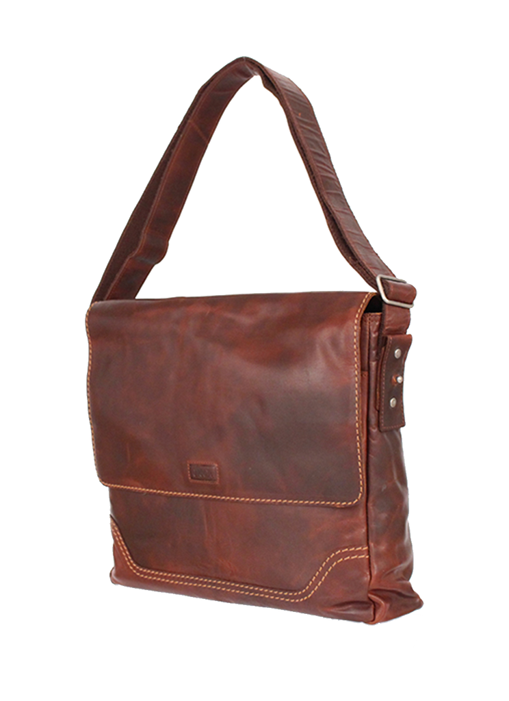 KKDK Briefcase Bag for PC Leather