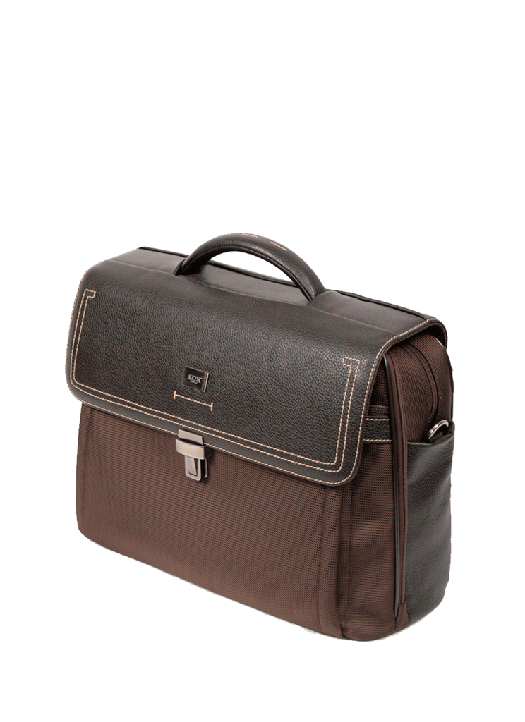 KKDK PC Briefcase Læder Nylon