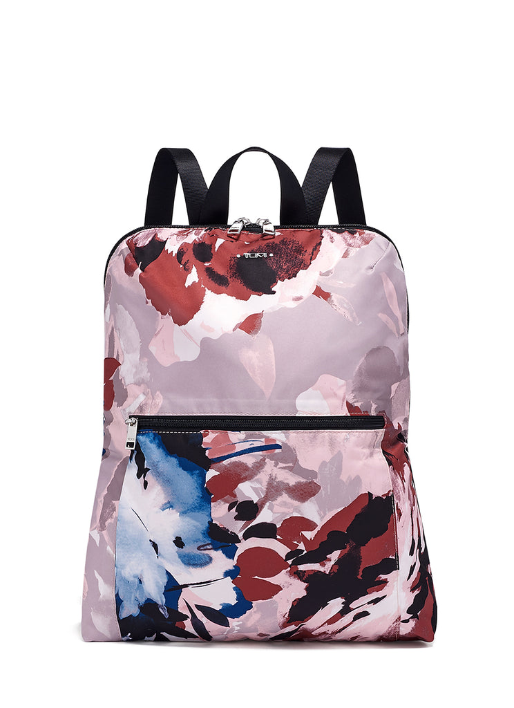 Tumi Voyageur Just In Case Blush Floral Backpack
