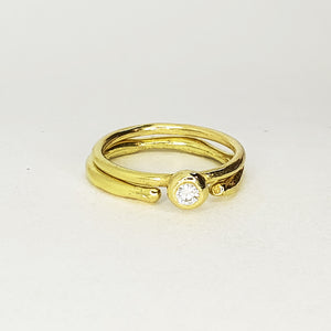 CM 18ct Gold Open Etna Ring