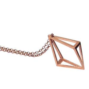 Upturned Kite Pendant LRG