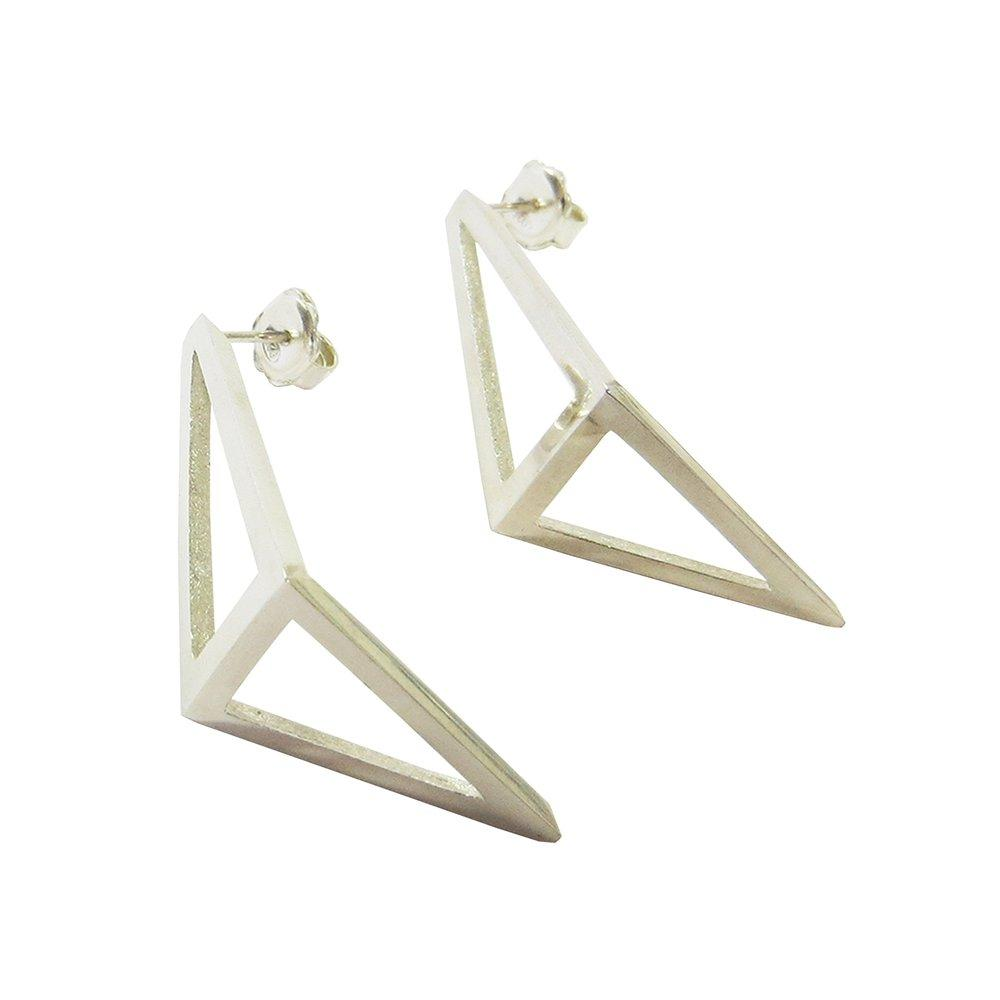 Half Kite Earrings LRG