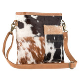 Leather Hideon Cowhide Attitude Bag