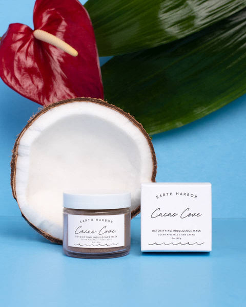Detox Dessert Mask: Raw Cacao + Ocean Mineral Earth Harbor