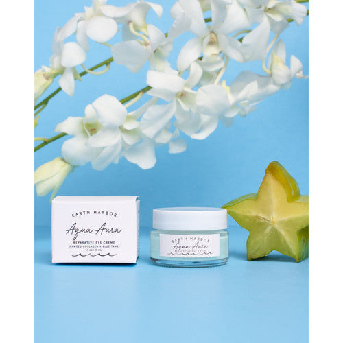 Aqua Aura Eye Creme Earth Harbor Naturals